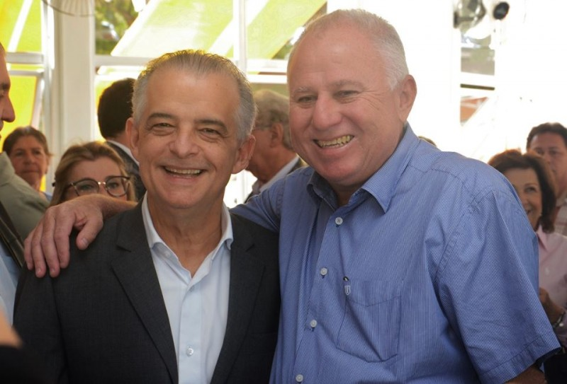 Visita do governador Márcio França