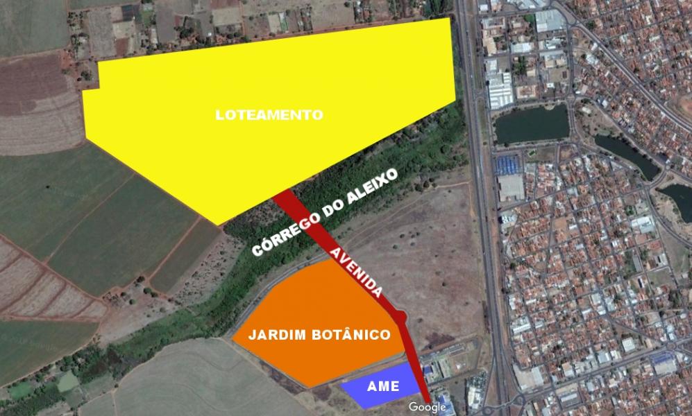 Poss�vel constru��o de ponte sobre o C�rrego do Aleixo � questionada por Paulo Correa