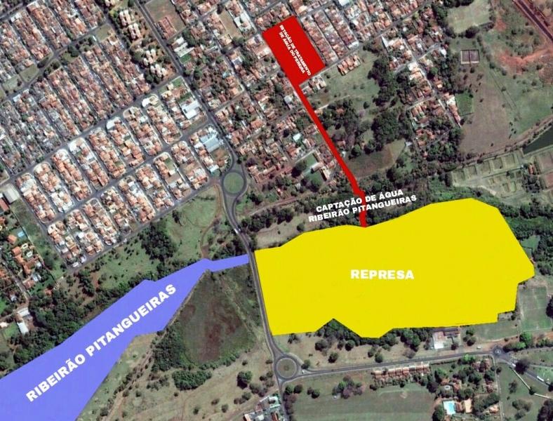 DAEE aprova projeto para construção de barragem no Ribeirão Pitangueiras