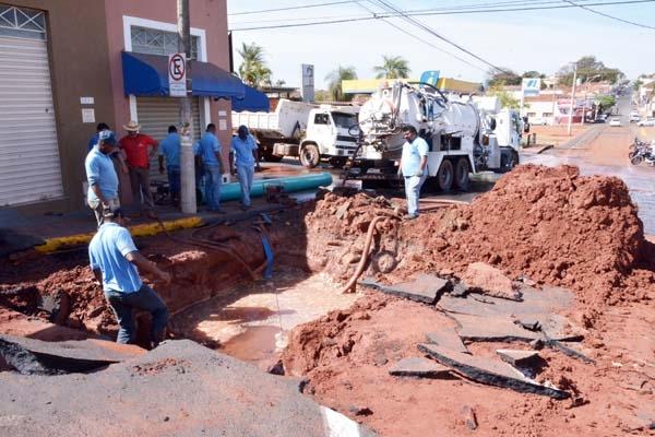 Paulo Correa questiona falta de água em Barretos