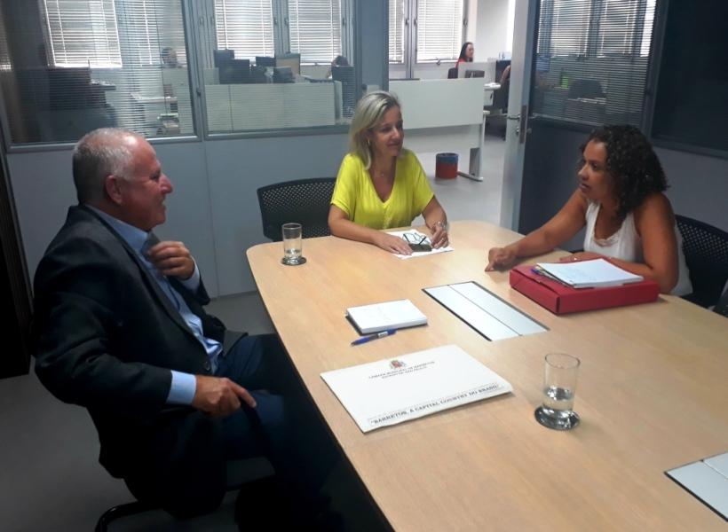 Paulo Correa participa de reunião com Coordenadoria da SPU