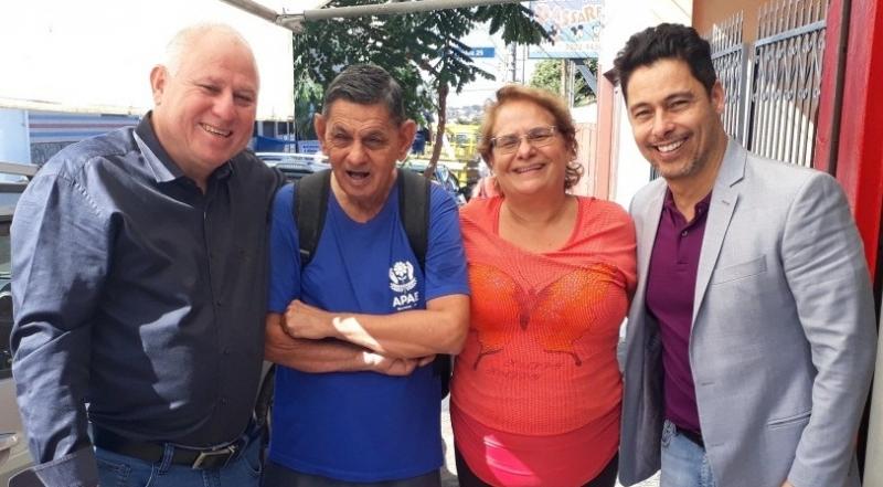 Deputado Federal Márcio Alvino destina R$ 200 mil para APAE após pedido de Paulo Correa