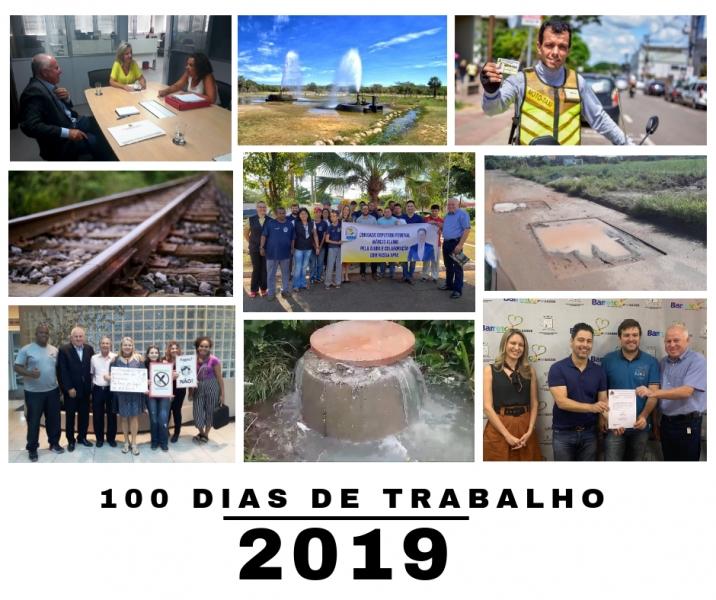 100 dias de trabalho - 2019