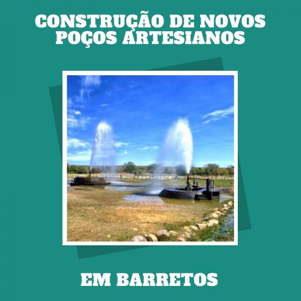 Donos de loteamentos investem em poços artesianos para atender lei municipal de Paulo Correa